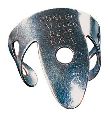 6x Dunlop Fingerpicks Regular silver nickel - NEU