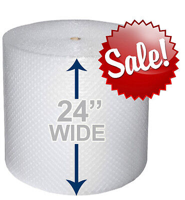 24 Wide 316 X 175 Ft Bubble Roll Small Bubbles 350 Sqft Cushion Wrap