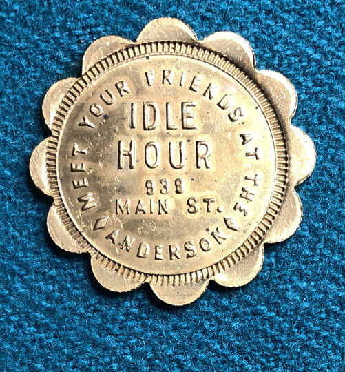 Idle Hour Anderson Indiana Token
