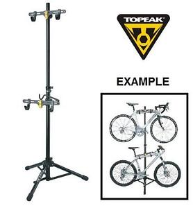 NEW TOPEAK TUNE UP BIKE STAND TWO UP - TUNE UP BICYCLE STAND - BIKE WORKSTAND 104148392
