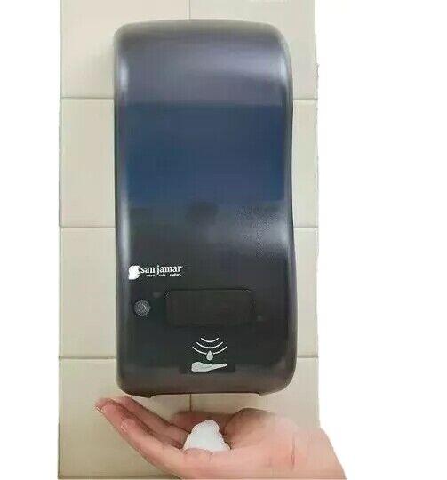 Rely Hybrid Electronic Touchless Soap Dispenser San Jamar BLACK LOT of 6