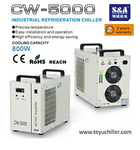 Chiller CW-5000 800W cooling capacity