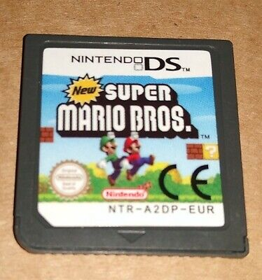 NEW SUPER MARIO BROS ! PAL ! CARTRIDGE ONLY !  NINTENDO DS + 3DS + 2DS !