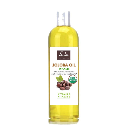 100% PURE ORGANIC UNREFINED GOLDEN JOJOBA OIL COLD PRESSED