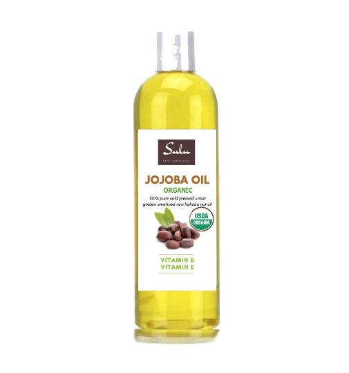 100 percent pure organic unrefined golden jojoba