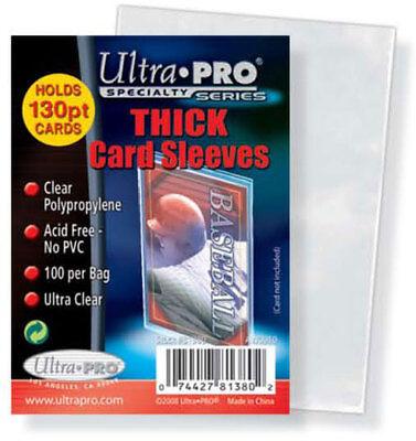 50 Ultra Pro Vintage Card Sleeves 2 3/4 x 3 - Vintage Card Sleeves