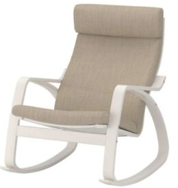 BRAND NEW BOUGHT LAST MONTH Rocking-chair with its seat cushion