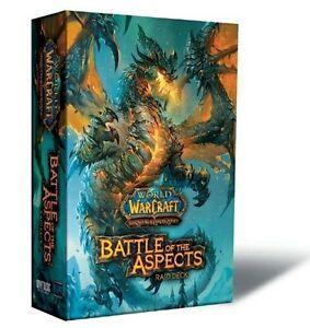 World of Warcraft TCG - Battle of the Aspects Raid Deck - Box - Display - WoW