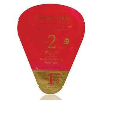 (Blossom Jeju 2 STEP SOY NOURISHING ESSENCE PETAL MASK 5Sheets rich moisturizing)