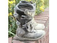 Motocross Wulf kids boots