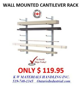 CANTILEVER RACKING IN STOCK. LOWEST PRICE & FASTEST DELIVERIES.