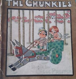 The Chunkies - May Bryon Childrens Antique Book
