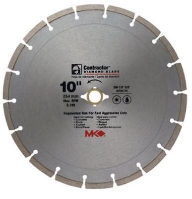 Mk Diamond 167017 Mk-99 Arbor Segmented Rim Diamond Blade 10