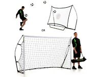 Quickplay Kickster 8'x5' goal and rebounder combo