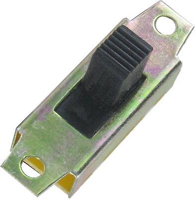 schaltend max 6 Schiebeschalter schwarz 2x EIN-EIN UM 250VAC 1 A