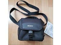 Sony soft camera bag