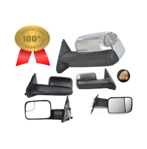 tow mirrors side mirrors trailer mirrors for dodge ram