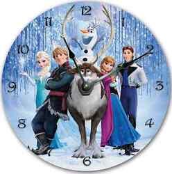 FROZEN Wall clock Nursery Art Personalized Custom Room Decor - 7197_FT