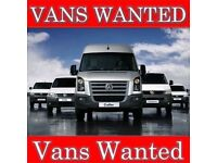 Vans and light commercial vehicles bought for cash all make and models