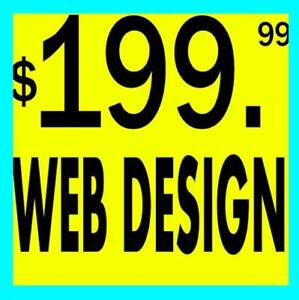 ⭐$199 WEB DESIGN ♥️ 100% SATISFACTION ☀️ SUNNY DAY SPECIAL!