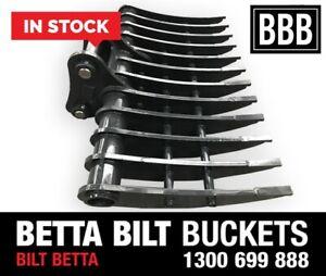 (BBB) BETTA BILT BUCKETS 20 TONNE RAKES INS TOCK Smeaton Grange Camden Area Preview