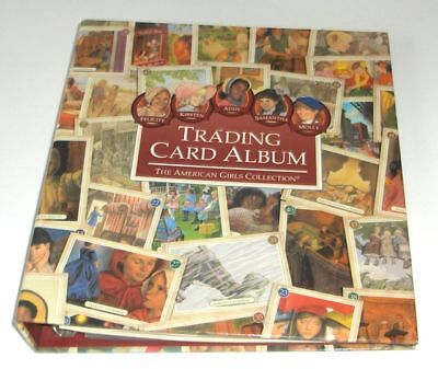 SALE! AMERICAN GIRL TRADING CARD ALBUM~SLEEVES! FOR FELICITY~KIRSTEN~MOLLY~ADDY