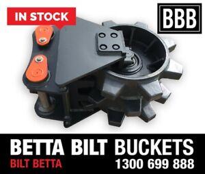 (BBB) BETTA BILT BUCKETS 13 TONNE COMPACTION WHEELS Smeaton Grange Camden Area Preview