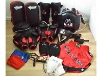Men's Kickboxing / Muay Thai / UFC / MMA / Boxing Training Gear & Equipment Lot