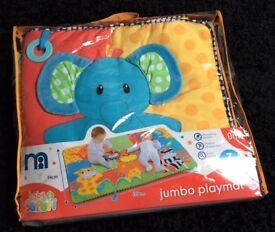 Mothercare safari baby play mat