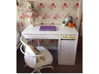 Customised Ikea MICKE Desk and Chair Set