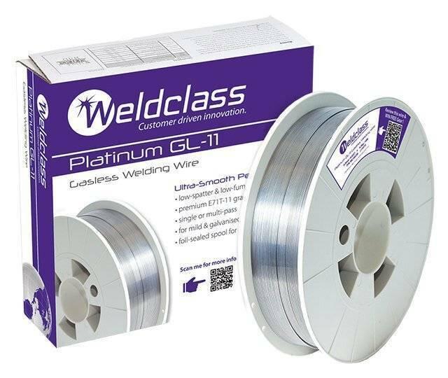 Gasless E71T-11 Mig Welding Wire 1.2mm 4.5kg Spool UNIMIG Flux Cored