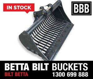 (BBB) 3 TONNE SIEVE BUCKET 1200MM IN STOCK Smeaton Grange Camden Area Preview