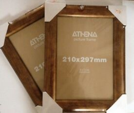 Athena picture frames - new