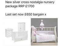 NEW EX DISPLAY 3 PIECE SILVERCROSS NOSTALGIA PACKAGE RRP £1700
