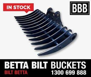EXCAVATOR RAKES Betta Bilt Buckets ROOT RAKES IN STOCK Smeaton Grange Camden Area Preview