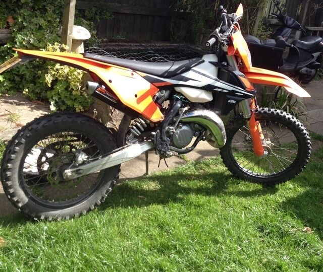 ktm 125 xc-w 2 stroke 2017 | in enderby, leicestershire | gumtree