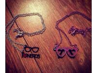 Set of 2 ladies novelty necklaces - £2.50 each or 2 for £4