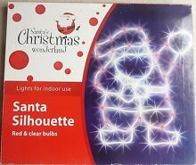 Used once. CHRISTMAS indoor lights: Santa, Reindeer and Star Lane Cove West Lane Cove Area Preview