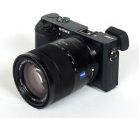 Sony a6000 + Carl Zeiss lens 16-70mm + 3 battery / charger
