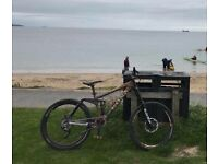 Kona stinky mountain bike downhill