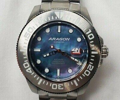 Aragon Divemaster II Automatic MOP Dial 50mm Men's Watch