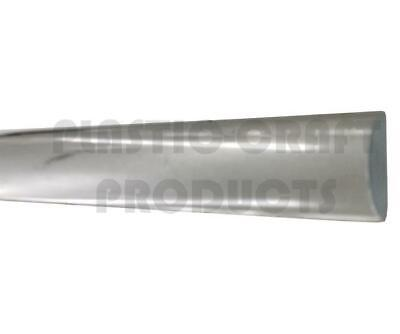"""Nominal 4 PK Clear Extruded Acrylic Round Tube 5//16/"""" OD x 3//16/"""" ID x 36/"""" Long"""
