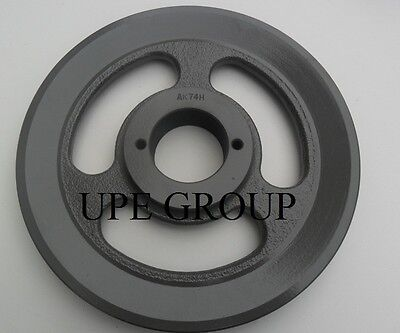 Cast Iron Pulley Sheave 7.25 For Electric Motor 1 Groove For 3l 4l & A Belts