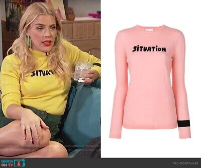 Bella Freud Situation Pink Sweater- Small