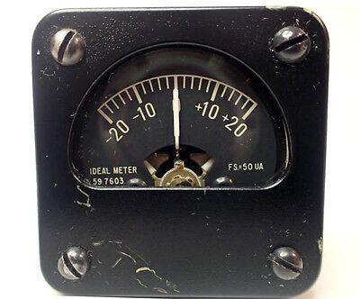 Ideal Precision Meter 59 7603 For Military Radio 1 Square Fs50ua