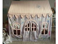 Win Green Small Fairy Cottage Playhouse Pink Wendy House Fabric Toddler Children