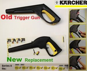 karcher trigger gun replacement for old model for series k2 k3 k4 k5 k6 k7 new ebay. Black Bedroom Furniture Sets. Home Design Ideas
