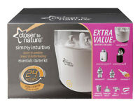 BRAND NEW Tommee Tippee Closer to Nature Essentials Starter Kit