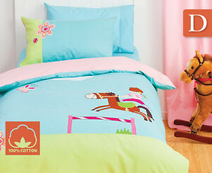 Jinx Kids' Double Quilt Cover Set - Pony Club Camden South Camden Area Preview