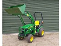 Compact Tractor and Implement Hire
